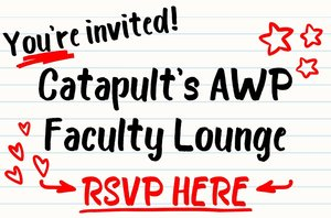 Announcement: Join us on March 6th for our AWP Faculty Lounge in San Antonio!