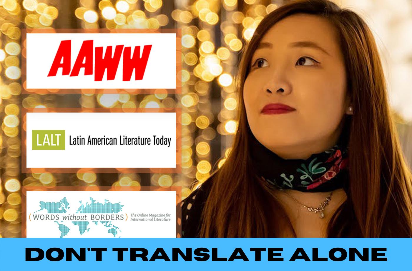 Catapult online classes: Jenna Tang, 2-Week Online Translation Seminar: Navigating the Publishing World as a BIPOC Woman/Queer/Nonbinary Translator, Translation, Seminar