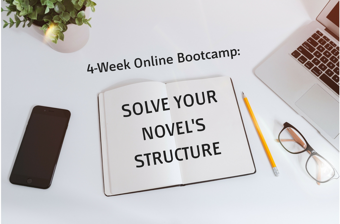 Catapult online classes: Stephanie Feldman, 4-Week Online Bootcamp: Solve Your Novel's Structure, Novel, Fiction, Bootcamp