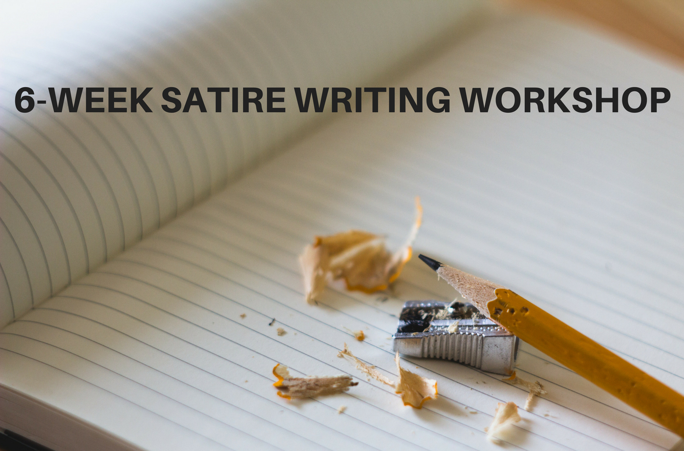 Catapult  classes: Jean-Luc Bouchard, 6-Week Satire Writing Workshop, Comedy, Workshop