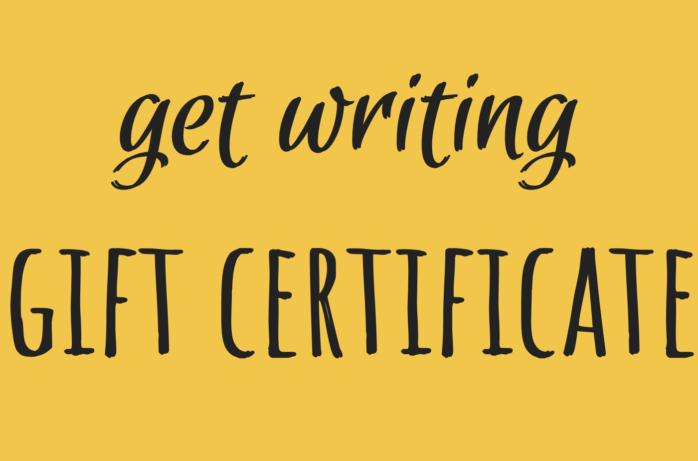 Catapult online classes: Catapult Classes, Get Writing Gift Certificate, Open-Genre, Independent Study