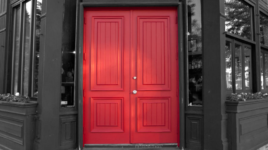 Cover Photo: The Red Door by Rony Phaeton