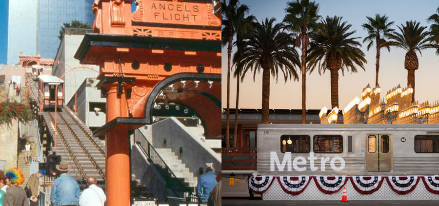 Cover Photo: Los Angeles, 1992 and 2014. photos via Metro Library and Archive