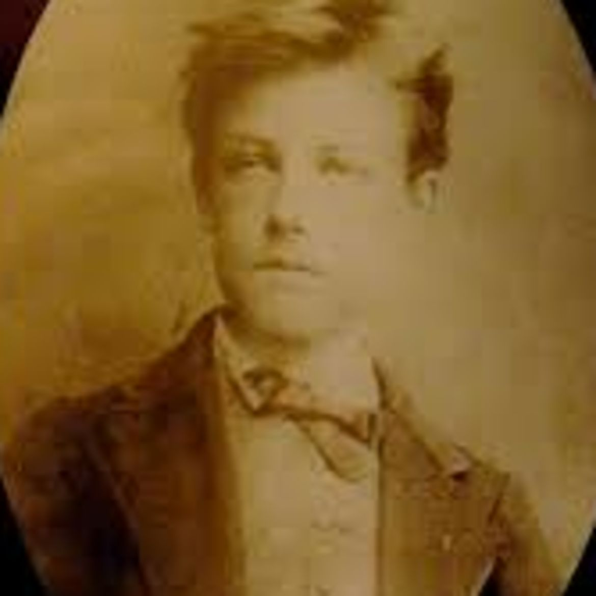 Cover Photo: With Arthur Rimbaud at the Chamber of Commerce by Con Chapman