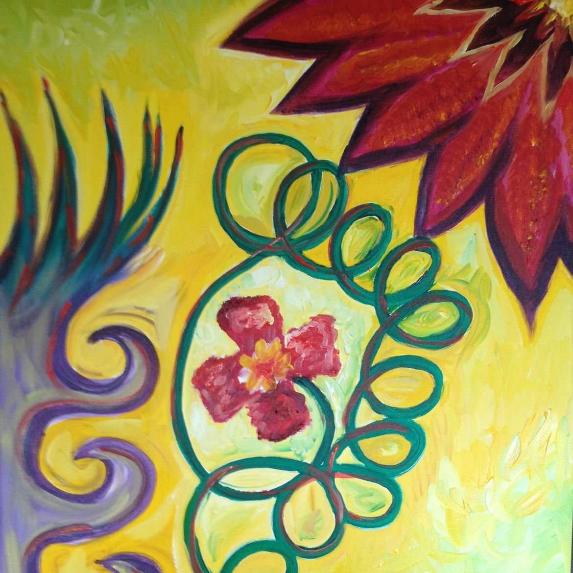 """Cover Photo: """"Inner Flower"""" By Emily Metcalf"""