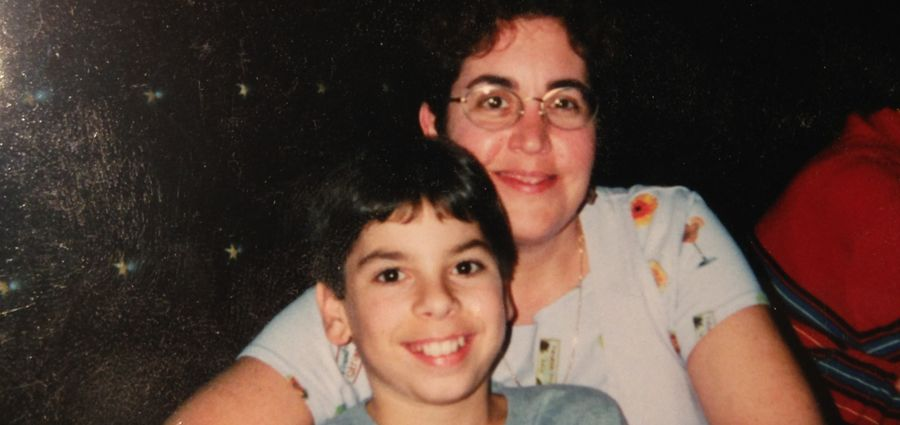 Cover Photo: The author at twelve years old, with his mother