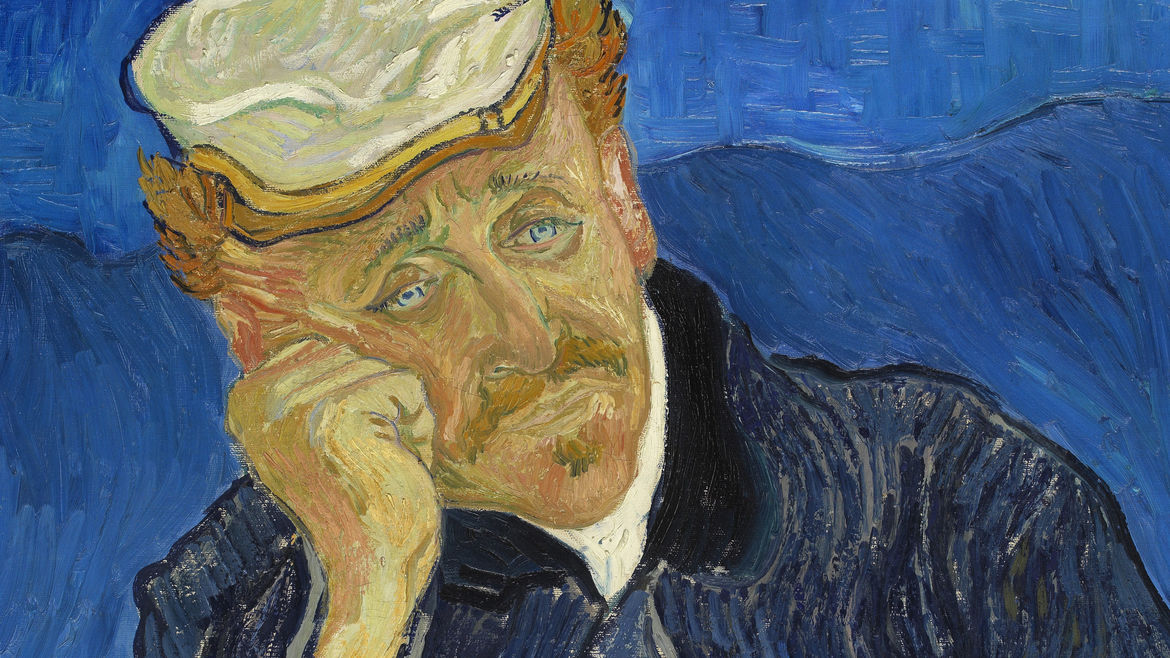"Cover Photo: Detail from Vincent Van Gogh's ""Portrait of Dr. Gachet,"" courtesy of the Musée d'Orsay, Paris."