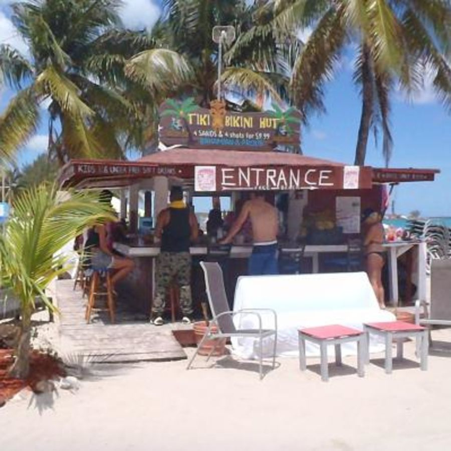 The tiki bikini hut
