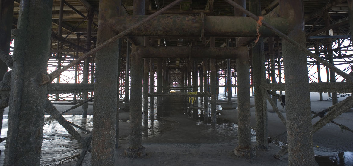 Cover Photo: Under the Pier by Shirley Golden