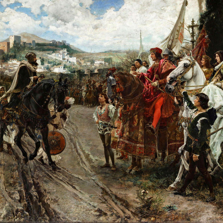 "Cover Photo: ""The Capitulation of Granada,"" Francisco Ortiz"