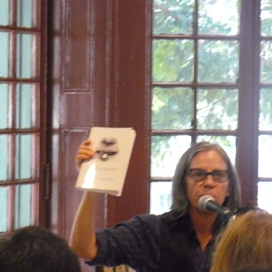 Cover Photo: Eileen Myles, 2010. photo kellywritershouse