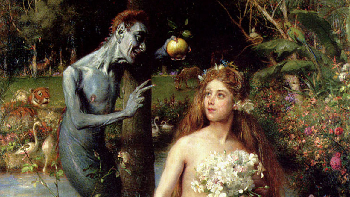 "Cover Photo: Detail from Pierre Jean van der Ouderaa's ""The Temptation of Eve"""
