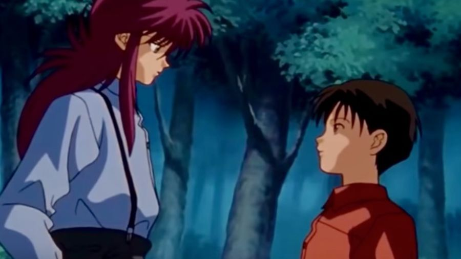 "Cover Photo: Scene from ""Yu Yu Hakusho; Studio Pierrot, Funimation"