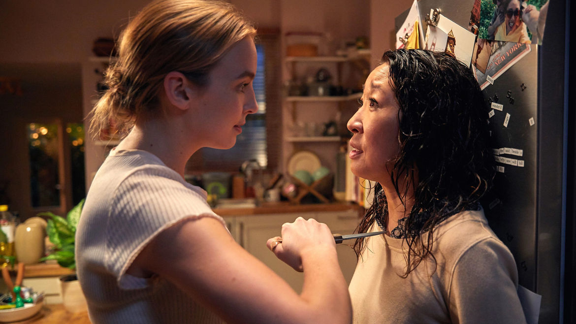 Cover Photo: Scene from 'Killing Eve', AMC