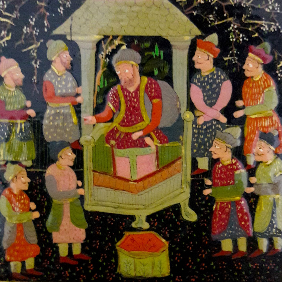 Cover Photo: Detail of papier-mâché box. Photo by Sibtain Ali, courtesy of author