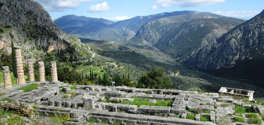 Cover Photo: Temple of Apollo, Delphi, Greece