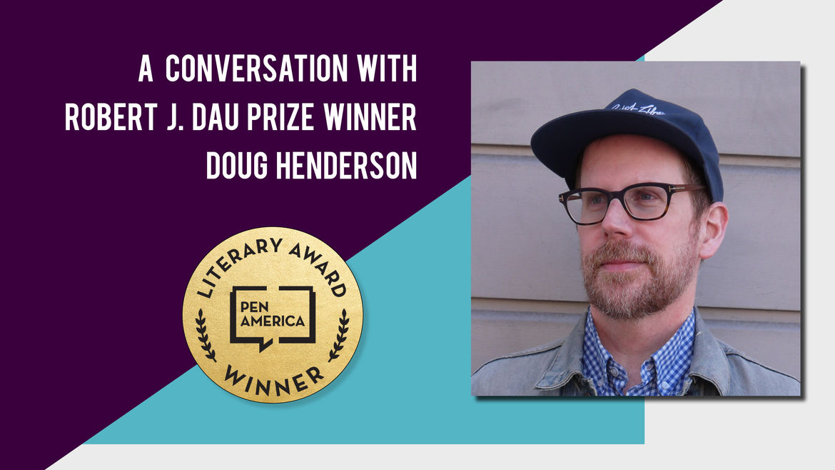 Cover Photo: A photo of Doug Henderson,  author and winner of the 2019 Robert J. Dau prize.