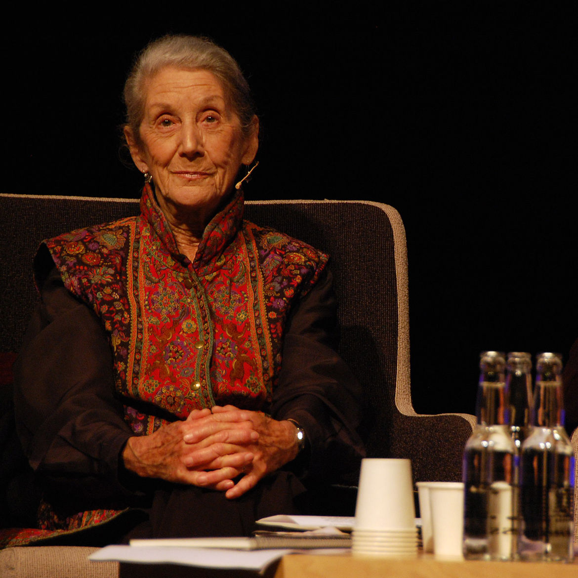 Cover Photo: Nadine Gordimer. Photo by Lärarnas Nyheter/flickr