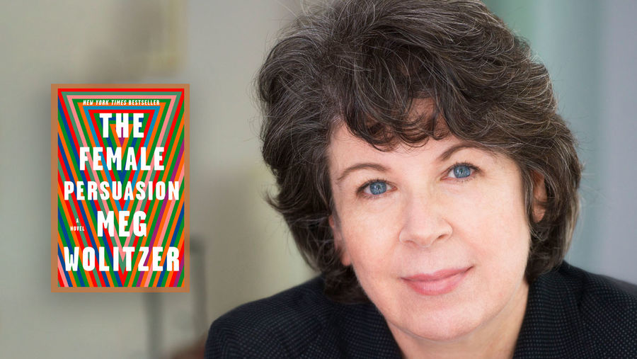 Cover Photo: author Meg Wolitzer. Photo taken by Nina Subin