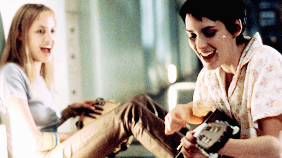 Cover Photo: A still from the film 'Girl, Interrupted' featuring the actresses Winona Ryder and Angelina Jolie playing a guitar and a tambourine, respectively