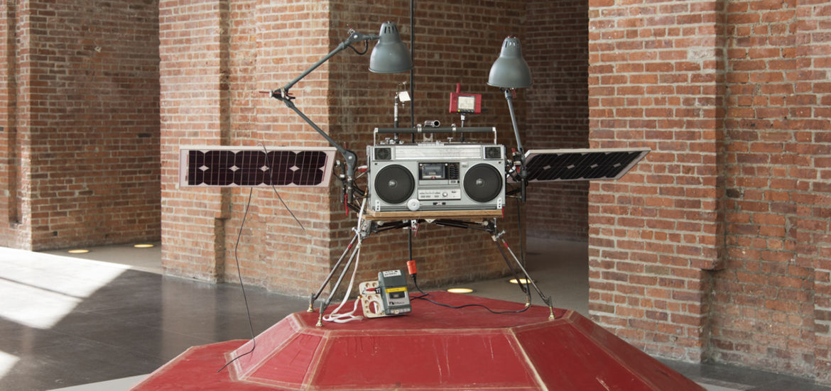 Cover Photo: Tom Sachs, Phonkey , 2011  photo by Jonathan Dorado/Brooklyn Museum