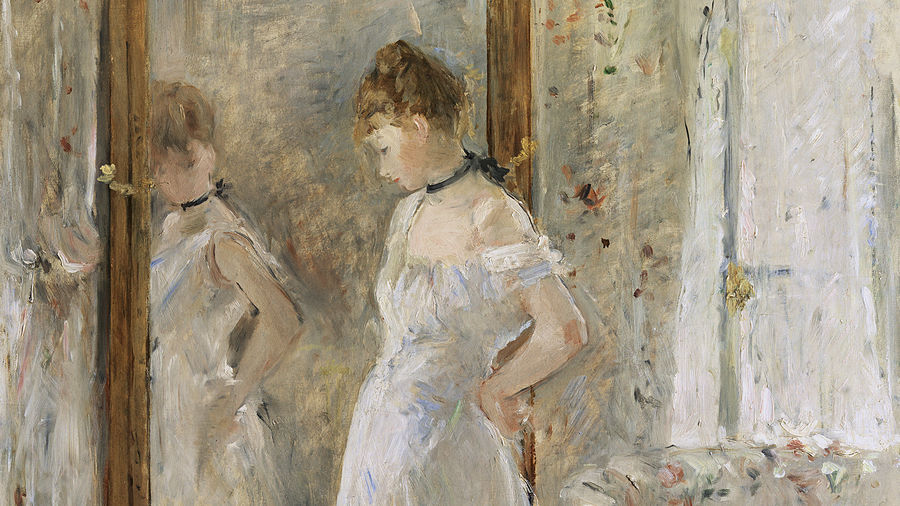 Cover Photo: Detail of Berthe Morisot's 'La Psyché' (1876)/Museo Nacional Thyssen-Bornemisza, Madrid