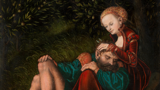 "Cover Photo: Detail from Lucas Cranach the Elder's ""Samson and Delilah"" (ca. 1528–30)/The Metropolitan Museum of Art"