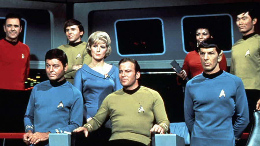 Cover Photo: An image of the Star Trek: The Original Series' cast