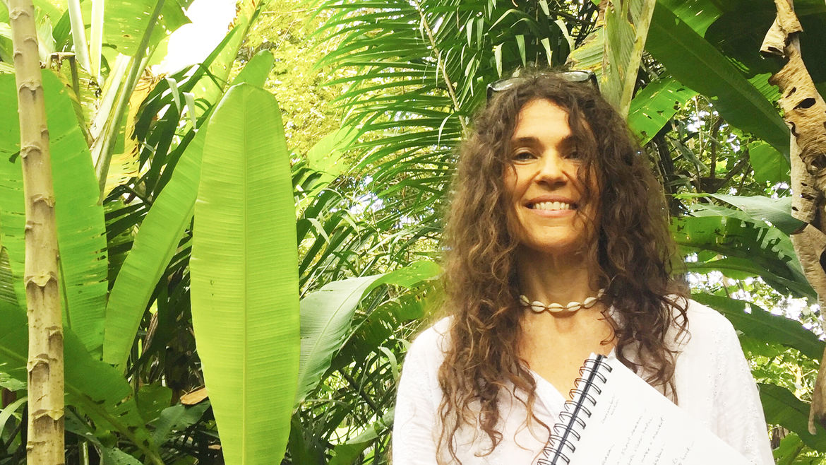 Cover Photo: A photograph of the author in the Ecuadorian rainforest