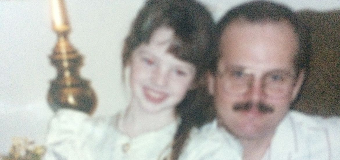 Cover Photo: Shannon, age 8, and her dad