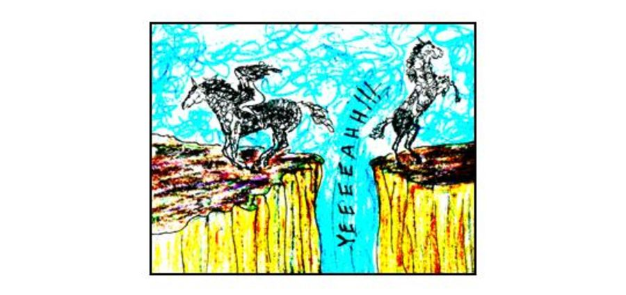 Cover Photo: Why I Stopped Riding Horses by Jay Kettering