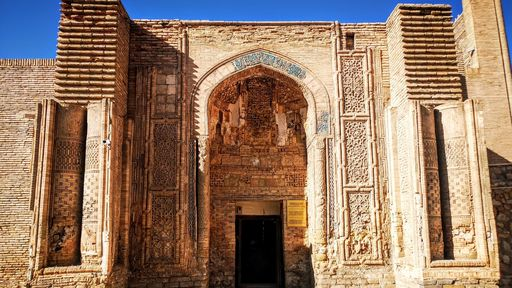 Cover Photo: An image of a Zoroastrian temple