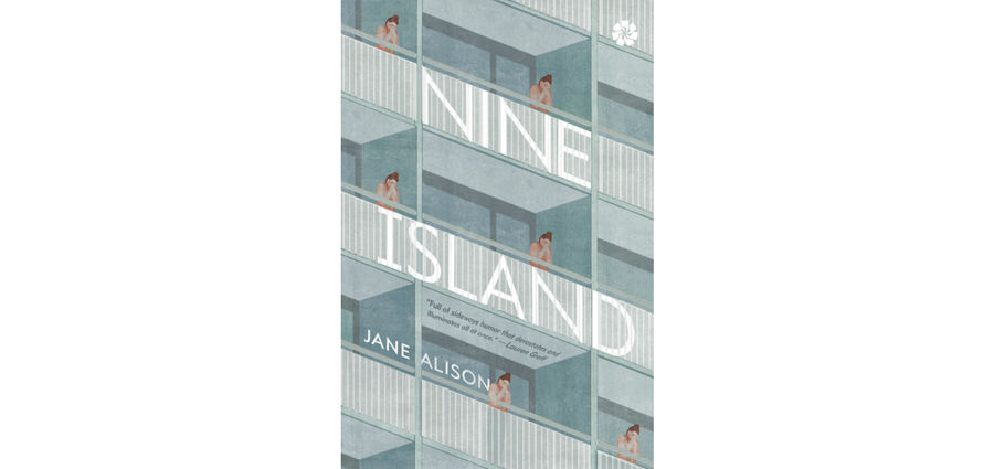 Cover Photo: Jane Alison, Author of Nine Island, on Book Tour by Megha Majumdar