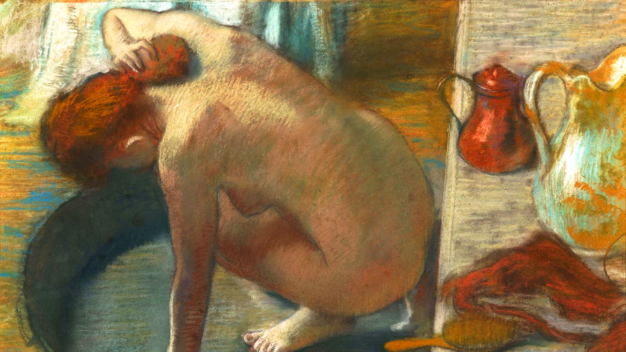 "Cover Photo: Detail from Edgar Degas' ""The Tub"" (1886)/Musée d'Orsay"
