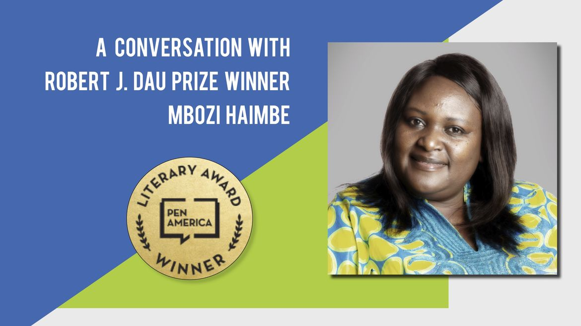 Cover Photo: A Conversation With Best Debut Short Stories 2020 Author Mbozi Haimbe by Catapult Books