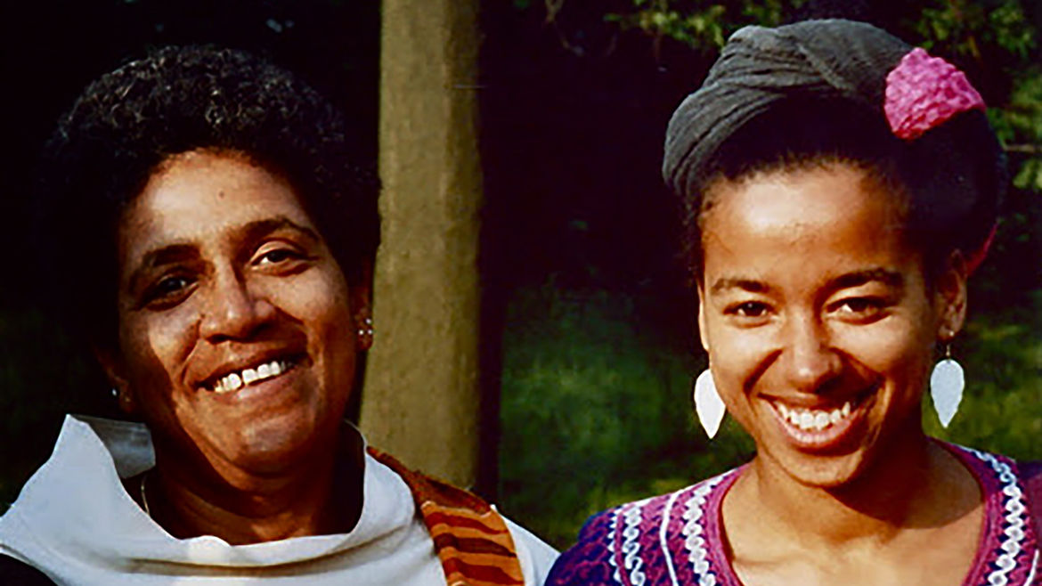 Cover Photo: A photograph of May Ayim and Audre Lorde