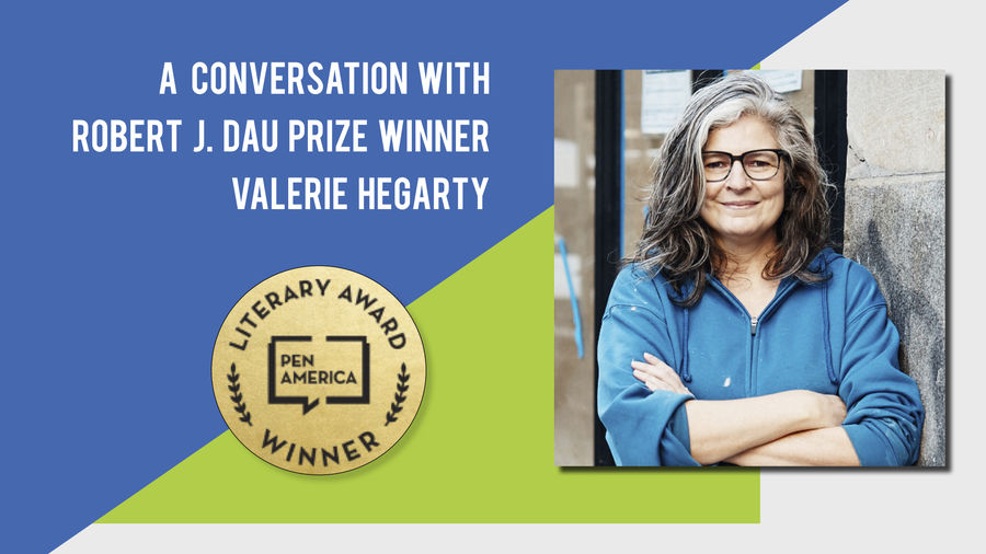 Cover Photo: A Conversation With Best Debut Short Stories 2020 Author Valerie Hegarty by Catapult Books