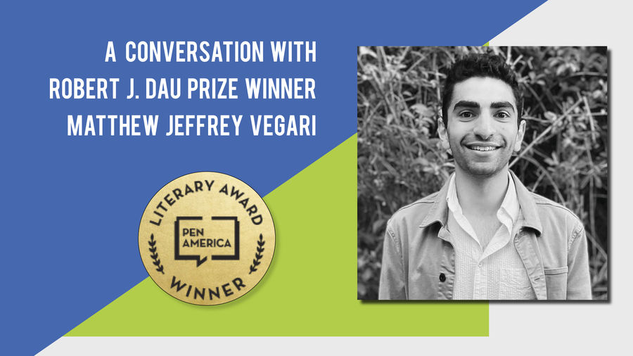 Cover Photo: A Conversation With Best Debut Short Stories 2020 Author Matthew Jeffrey Vegari by Catapult Books