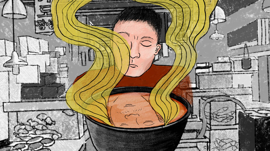 Cover Photo: Illustration by Betty Kim for Catapult