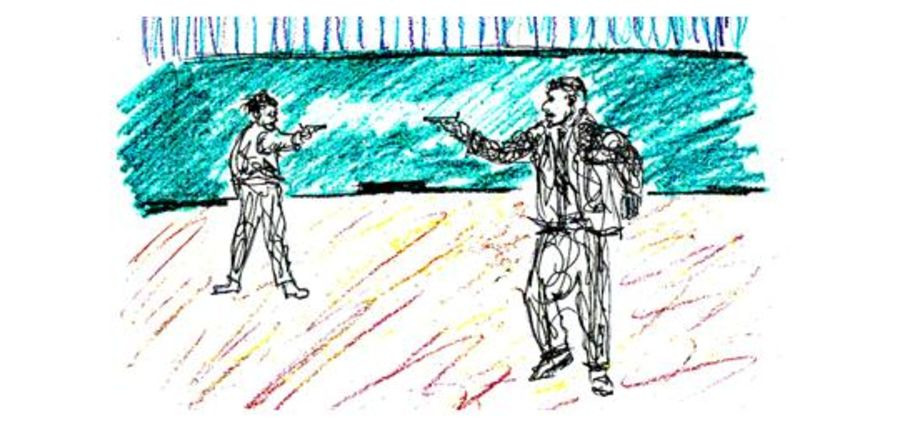 Cover Photo: When Teachers Have Guns or The 15 Minute School Day by Jay Kettering