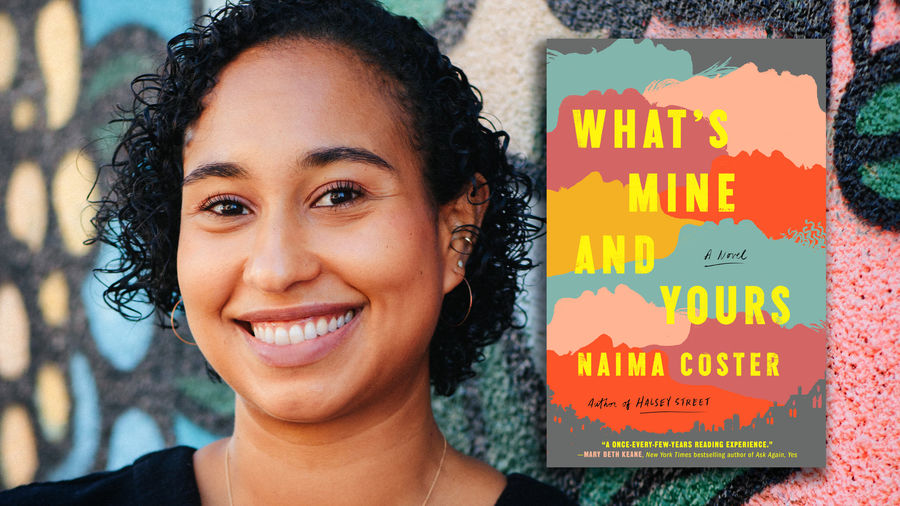 Cover Photo: A photograph of the author, a Black woman, with the cover of her book