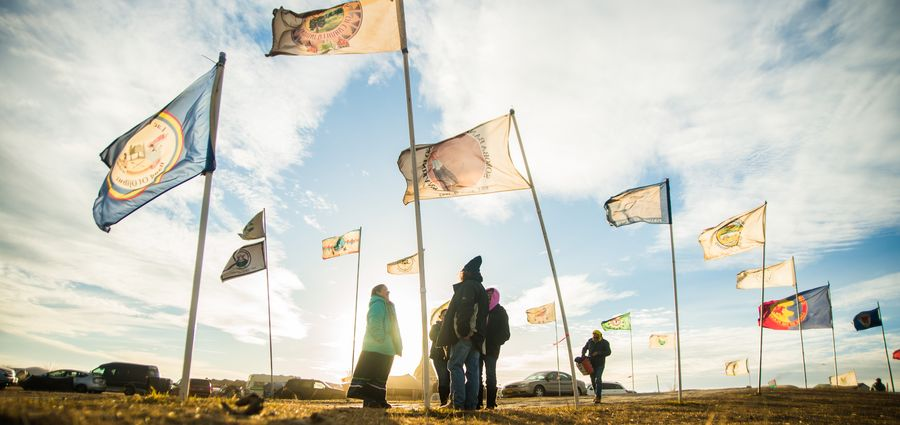 Cover Photo: photo by Oceti Sakowin Camp/flickr
