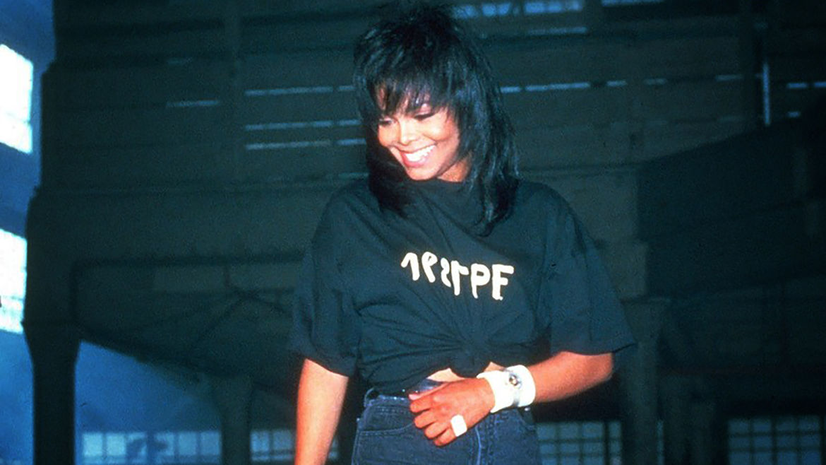 Cover Photo: An image of Janet Jackson