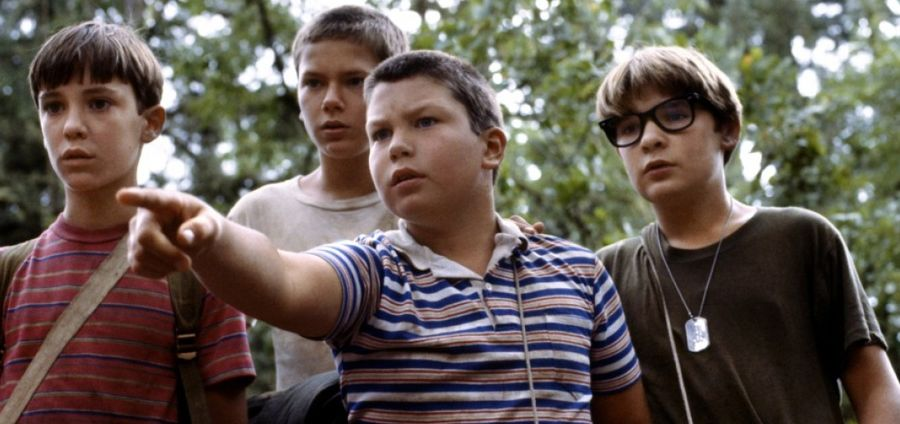 "Cover Photo: From the film ""Stand By Me"""
