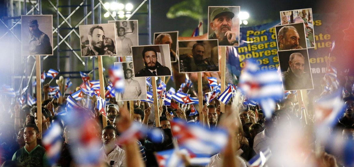 Cover Photo: Photo by Noah Friedman-Rudovsky/Memorial for Fidel Castro in Santiago, Cuba