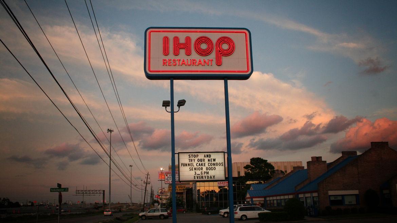 Cover Photo: A photograph of an exterior facade of an IHOP restaurant