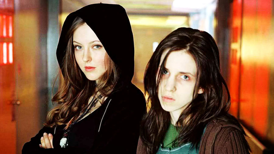 Cover Photo: An image of Ginger and  Brigitte from the film  'Ginger Snaps'