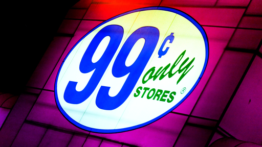 Cover Photo: An image of the 99 Cents Only Store