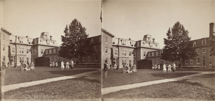 Cover Photo: Stereoscopic views of the Oneida Community, New York/photo by D. E. Smith