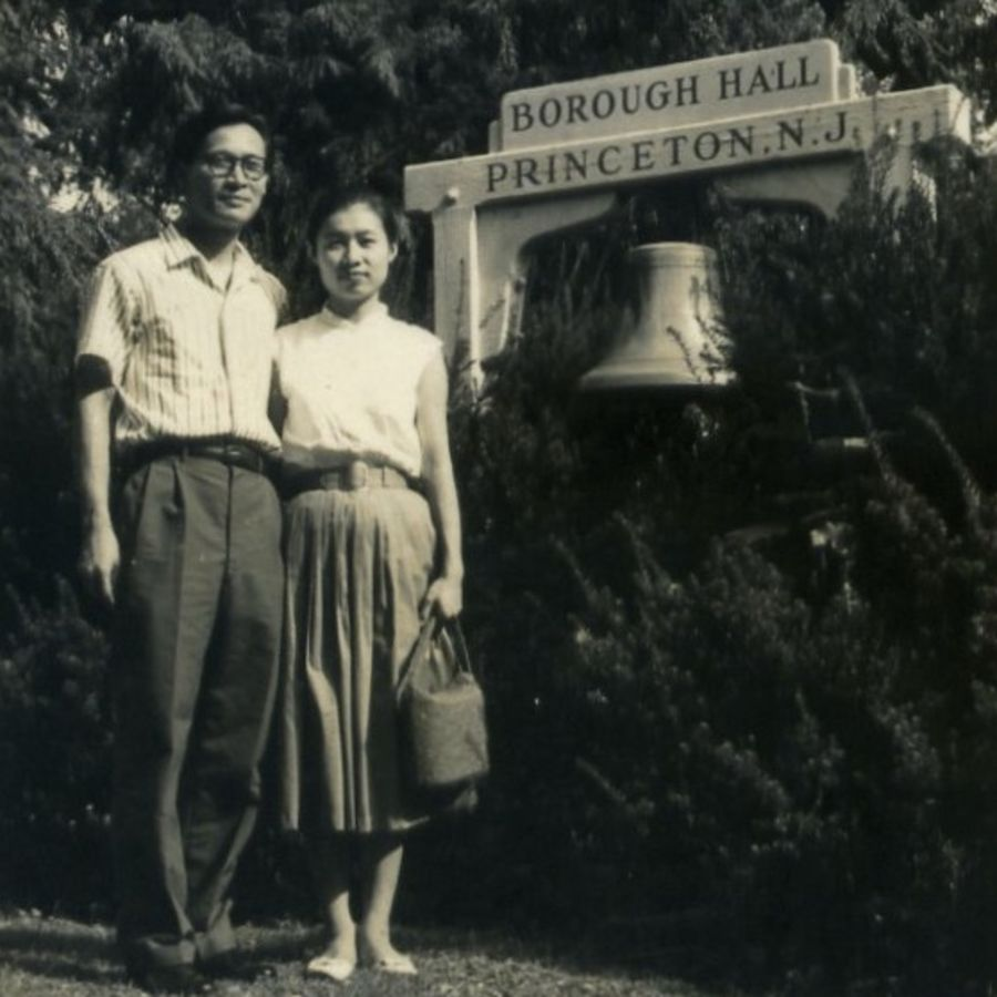Cover Photo: The author's parents, Princeton, 1960 / photo courtesy of the author